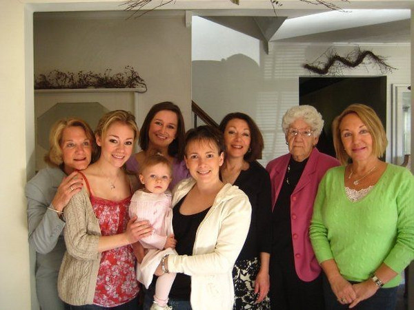 Easter 09' - The girls