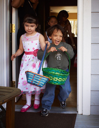 Easter '09, part 1: Grandma's house