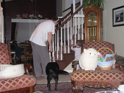 Daddy is a BIG Help