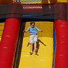 Giant Slide at the Hyde's Easter Egg Hunt