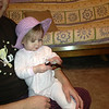 Awww<br /> Emma with her Easter bonnet