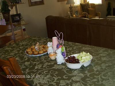 Easter Brunch 3-23-08