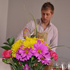 Chris prepares and cleans the variety of drinking glasses we would use to celebrate Easter.  So fun!
