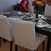 Delightful dining room table + chairs from IKEA