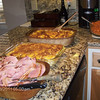 The food was wonderful. Susan cooked the ham; Patricia made the potatoes; Dana cooked the carrots.