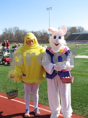 'Peeps' Diana Brehm and 'Bunny' Cleo Abel