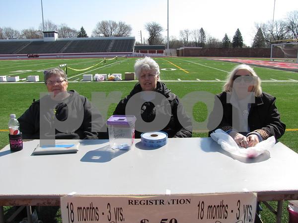 Sharon Winn, Carolyn Godfrey, and Cindy Larson