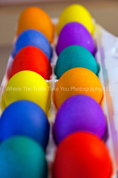 13  Colored Eggs