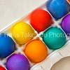 7  Colored Eggs