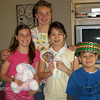 Delaney, Blake, Amanda and Brandon. My, how they have grown.