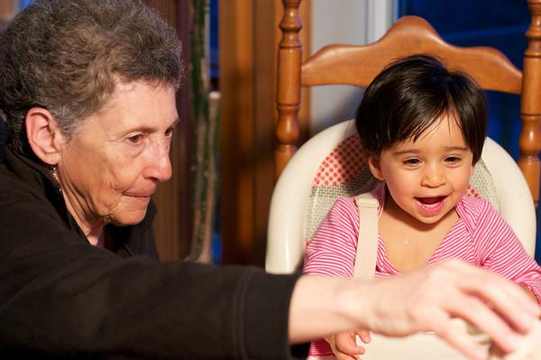 Grandma Karen and Ishana