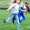 Diane Raver   The Herald-Tribune<br /> Some youth sprinted on the football field.
