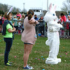 Diane Raver | The Herald-Tribune<br /> Before the first hunt, the crowd played Easter Bunny says.