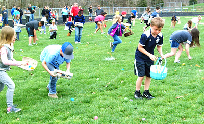 Diane Raver   The Herald-Tribune When the Easter Bunny said go, the kids were ready to hunt.