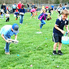 Diane Raver | The Herald-Tribune<br /> When the Easter Bunny said go, the kids were ready to hunt.