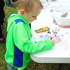 Diane Raver | The Herald-Tribune<br /> J.J. Hountz, 5, colored a picture at one of the activity stations.