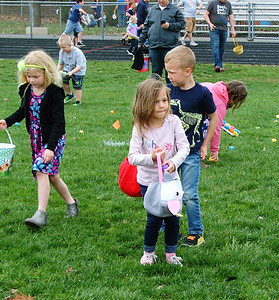 Diane Raver | The Herald-Tribune The kids enjoyed looking for the eggs.