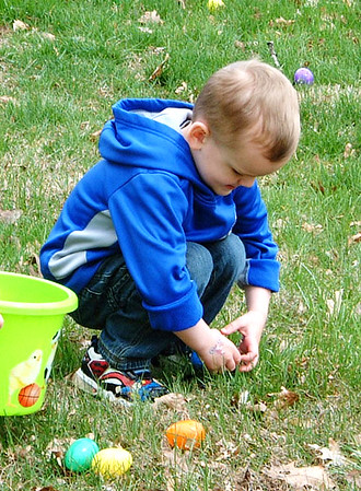 Diane Raver | The Herald-Tribune<br /> The kids enjoyed hunting eggs.