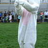 Diane Raver | The Herald-Tribune<br /> The Easter Bunny played Charades before the final hunt of the afternoon.