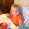 Wyatt eating his easter lunch  ( 2003 )