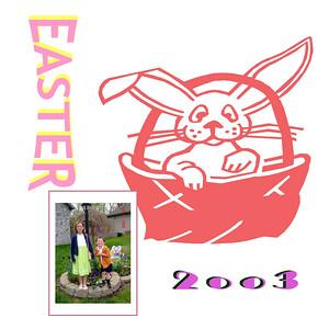 Easter -  2003