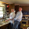 Tj and his wife doing dishes  ( 2003 )