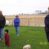 Mary, Wyatt, Grandma Kay and Mary Ann at the Easter egg hunt  ( 2003 )