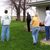 TJ, Wayne, Angie and Daryl watching the Easter egg hunt  ( 2003 )