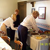 Angie, Mary Ann and Grandma Wolf getting lunch ready  ( 2003 )