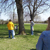 Nicole, Travis Bisenius, Travis Wolf, Cory and Mary hunting for eggs  ( 2004 )