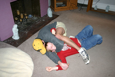 Cory and Bryce wrestling  ( 2005 )