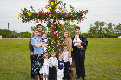 Doug, Lisa, David, Leah, Elijah, Joshua, Mary Carol, William, Mary Elena, and Robert