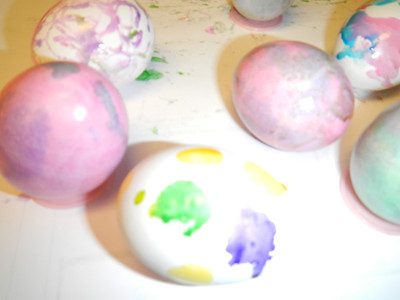 Easter Egg Coloring 3-28-2013