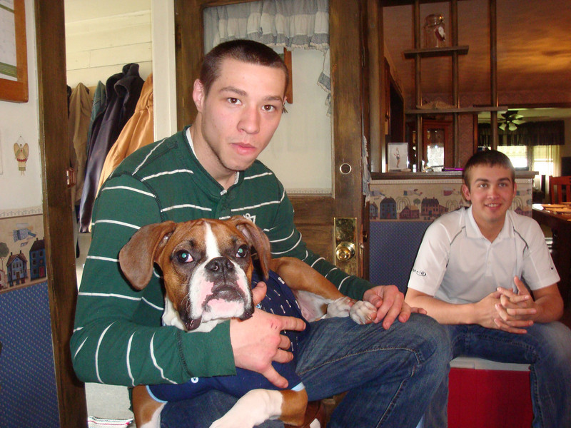 Alex, Boone and Travis on Easter Sunday ( 2011 )
