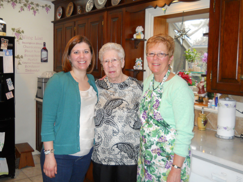 Ilsa, Nana and me