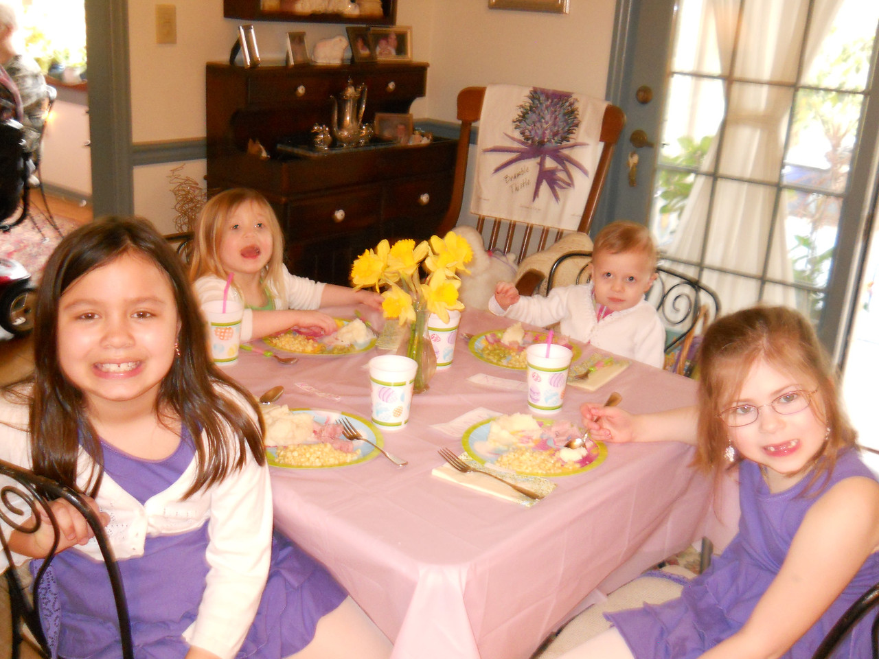 The kid table