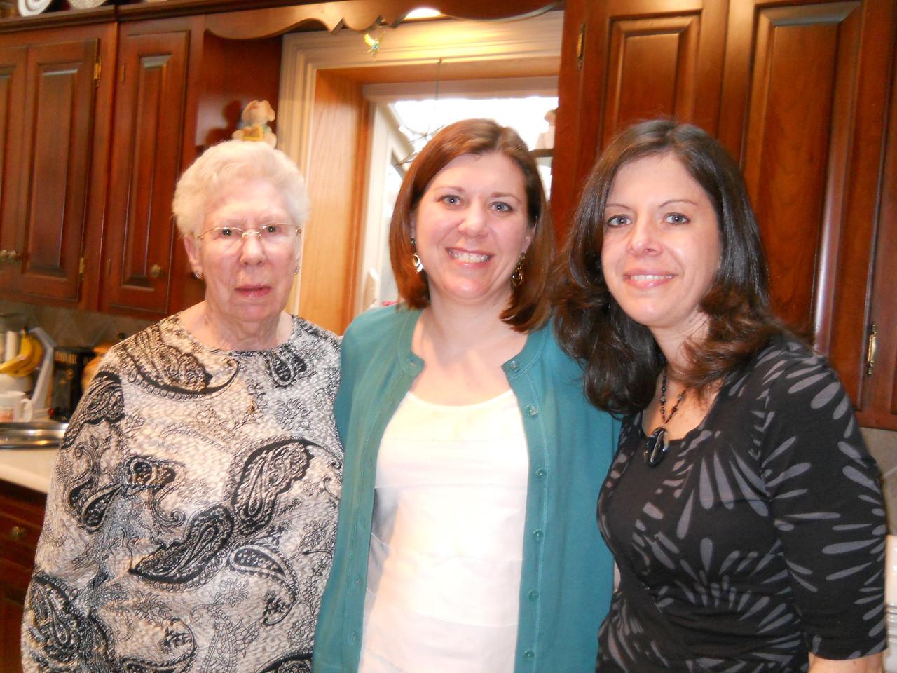 Nana, Ilsa and Cara (Ilsa's friend and Alison's mother)