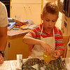 Coloring eggs at JoJo's (4.3.10)