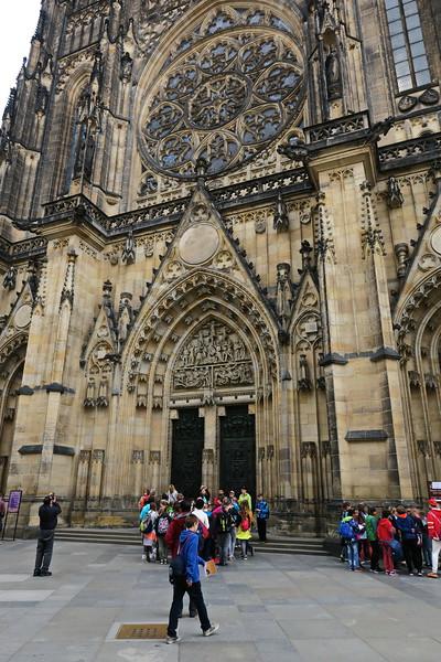 Czech Republic - Prague - Saint Vitus Cathedral Area 001