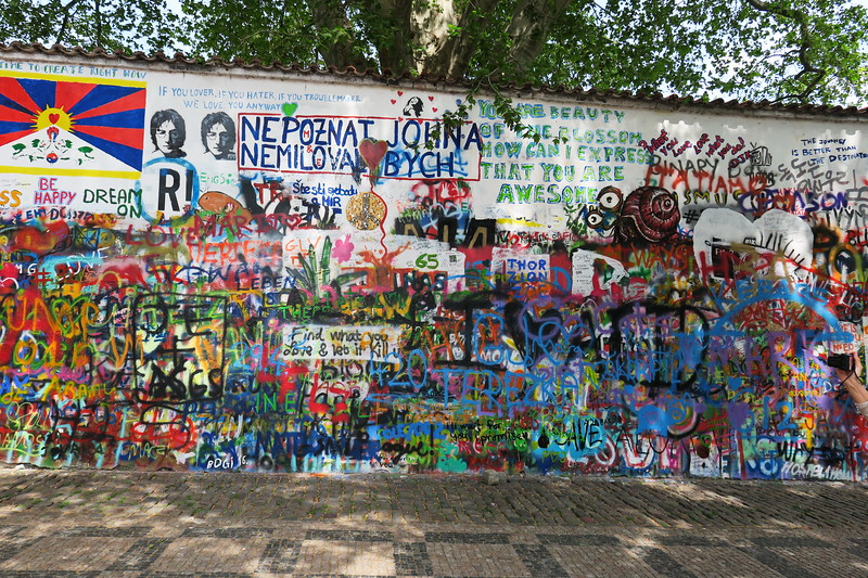 Czech Republic - Prague - Lennon Wall Area 012