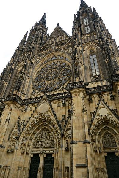 Czech Republic - Prague - Saint Vitus Cathedral Area 004