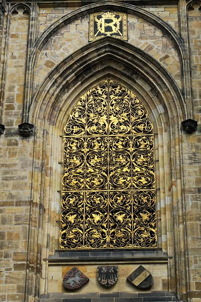 Czech Republic - Prague - Saint Vitus Cathedral Area 034