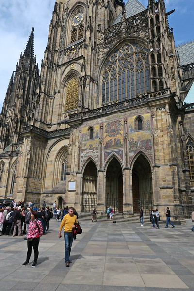 Czech Republic - Prague - Saint Vitus Cathedral Area 045