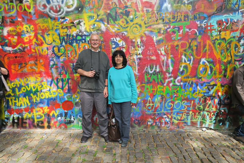 Czech Republic - Prague - Lennon Wall Area 016