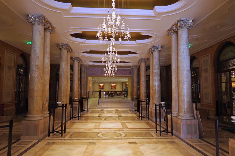 Romania - Bucharest - Athenee Palace Hotel Hall 213