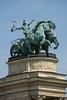 Hungary - Budapest - Hero's Square 09