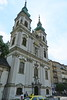Hungary - Budapest - Church Near Boat Dock 1