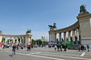 Hungary - Budapest - Hero's Square 04
