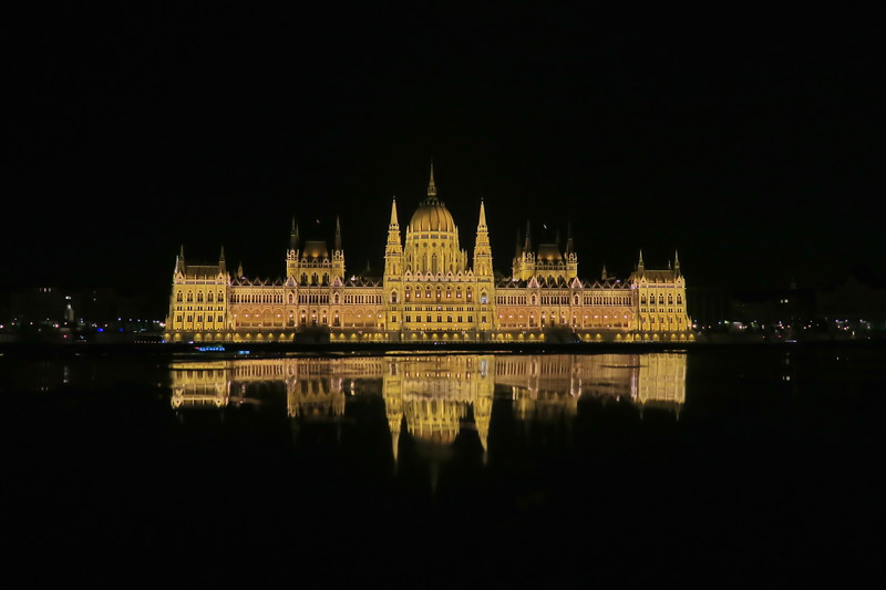 Hungary - Budapest at Night from the Ship 64