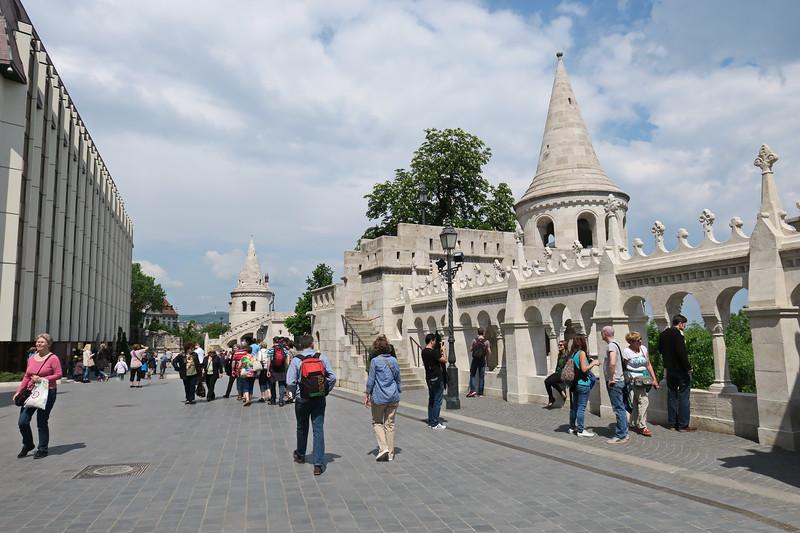 Hungary - Budapest - Fishermen's Bastion 09